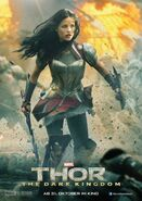 Charakterposter Lady Sif Thor - The Dark Kingdom