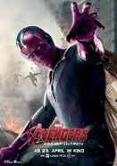 Charakterposter Vision Avengers - Age of Ultron