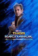 Thor Ragnrok Charakterposter Grandmaster