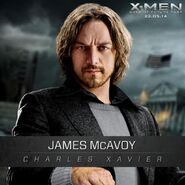 Charles Xavier- Professor X jung - James Mc Avoy