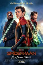 Spider-Man - Far From Home deutsches Kinoposter