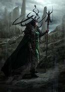 Thor Ragnarok Konzeptzeichnung 58