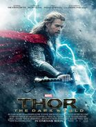 Thor the Dark Kingdom Filmposter