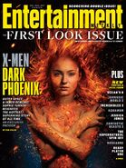 X-Men - Dark Phoenix Entertainment Weekly Cover
