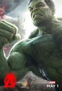 Charakterposter Hulk Avengers - Age of Ultron
