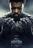 Black Panther Charakterposter Black Panther