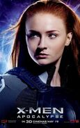 X-Men Apocalypse - Jean Grey Charakterposter
