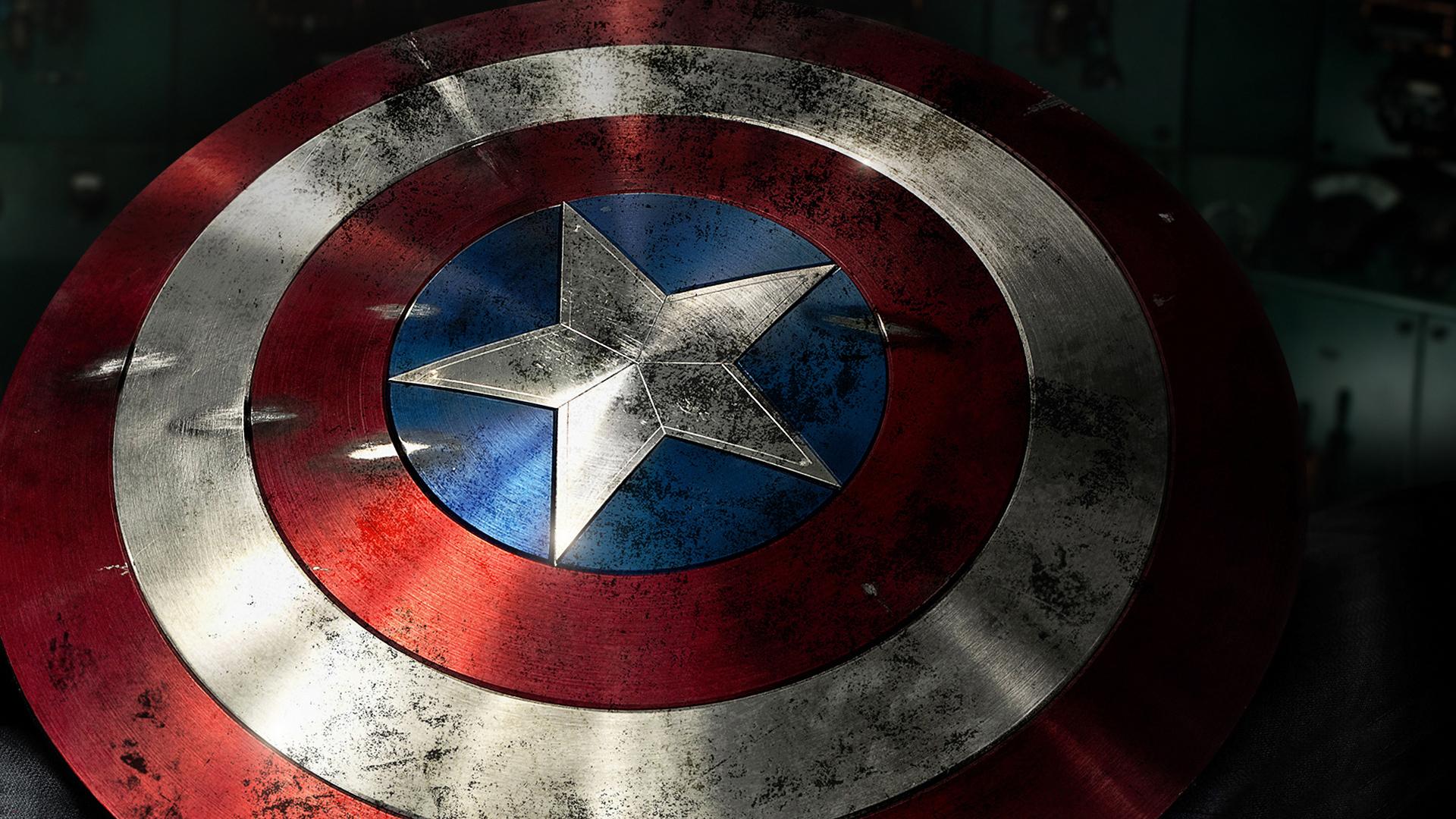 Captain America Schild