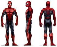 Spider-Man - Konzeptzeichnung 4