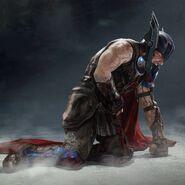 Thor Ragnarok Konzeptzeichnung 139