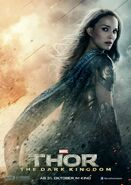 Charakterposter Jane Foster Thor - The Dark Kingdom