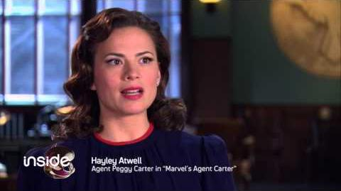 Marvel's Agent Carter - Interview 3 - Syfy