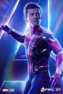 Avengers - Infinity War - Spider-Man Poster