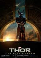 Charakterposter Heimdall Thor - The Dark Kingdom
