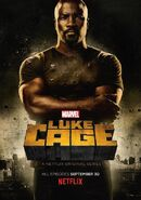 Marvel's Luke Cage Staffel 1 Poster