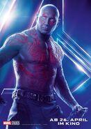 Avengers - Infinity War - Deutsches Drax Poster