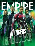 Avengers - Infinity War Empire Cover 1