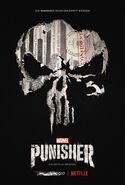 Marvel's The Punisher deutsches Teaserposter Staffel 1
