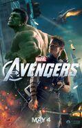 AvengersHakweyeHulkPoster