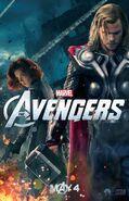 AvengersThorBlackWidowPoster