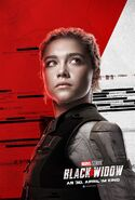 Black Widow - deutsches Charakterposter Yelena Belova