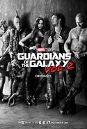Guardians of the Galaxy Vol. 2 Teaserposter