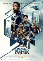 Black Panther deutsches Kinoposter