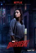 Charakterposter Claire Temple Marvel's Dardevil