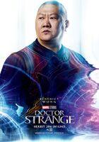 Doctor Strange deutsches Charakterposter Wong