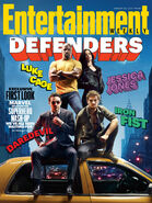 The Defenders Staffel 1 Entertainment Weekly Cover