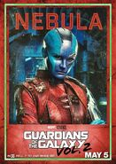 Guardians of the Galaxy Vol.2 Charakterposter Nebula