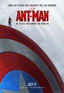 Ant-Man Captain Americas Schild Poster US