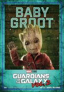 Guardians of the Galaxy Vol.2 deutsches Charakterposter Baby Groot