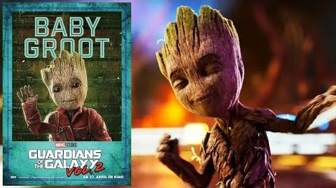 Baby Groot - GUARDIANS OF THE GALAXY VOL. 2 Marvel HD