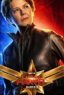 Captain Marvel Charakterposter (Annette Bening)