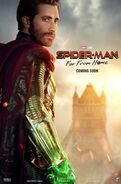 Spider-Man - Far From Home Charakterposter Mysterio