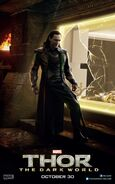 Charakterposter Loki Thor - The Dark World