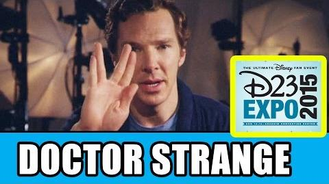 Doctor Strange D23 Expo Panel Highlights - Benedict Cumberbatch, Kevin Feige
