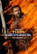 Thor Ragnrok Charakterposter Heimdall