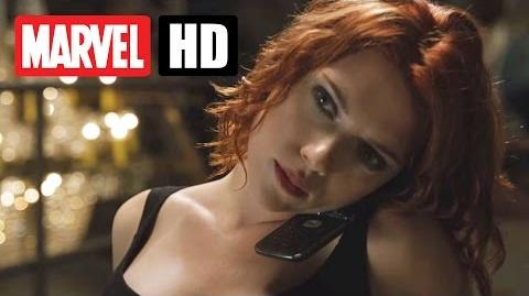 Marvel's THE AVENGERS - Filmclip - Black Widow im Verhör