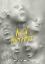 New Mutants deutsches Teaserposter