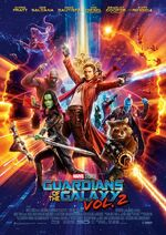 Guardians of the Galaxy Vol. 2 deutsches Poster