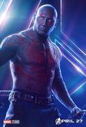 Avengers - Infinity War - Drax Poster