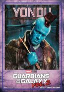 Guardians of the Galaxy Vol.2 deutsches Charakterposter Yondu