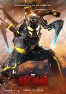 Ant-Man deutsches Yellowjacketposter