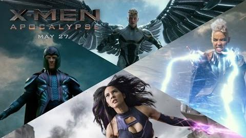 X-Men Apocalypse The Four Horsemen 20th Century FOX