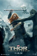 Thor - The Dark World Volstagg Charakterposter