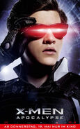 X-Men Apocalypse - Cyclops deutsches Charakterposter