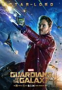 Guardians of the Galaxy Star-Lord Poster