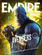 Avengers - Infinity War Empire Cover 6